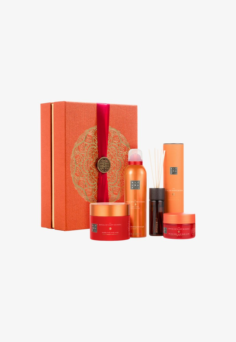 Rituals - THE RITUAL OF HAPPY BUDDHA - ENERGISING COLLECTION 2018 - Bath and body set - -