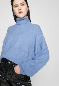 Weekday - AGGIE TURTLENECK - Pullover - dove blue - 3