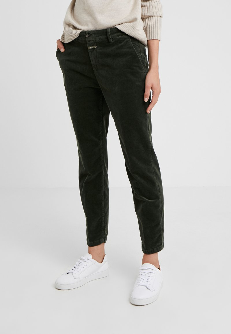 CLOSED - JACK - Trousers - caper green