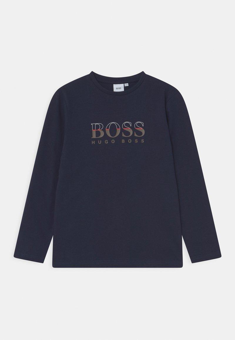 BOSS Kidswear - LONG SLEEVE - Long sleeved top - navy
