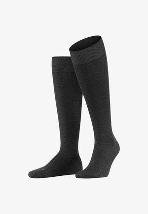 Knee high socks - anthra.mel