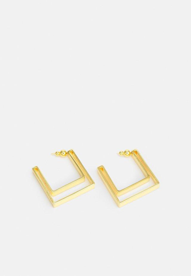 ABIE EARRING - Øredobber - gold-coloured metallic