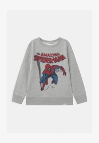 GAP - BOYS SPIDERMAN CREW - Bluza - light heather grey - 0