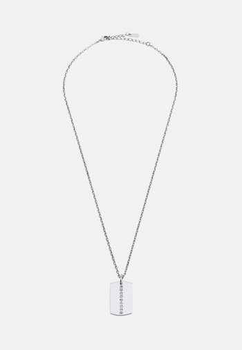 NECKLACE DOG TAG UNISEX - Necklace - silver-coloured