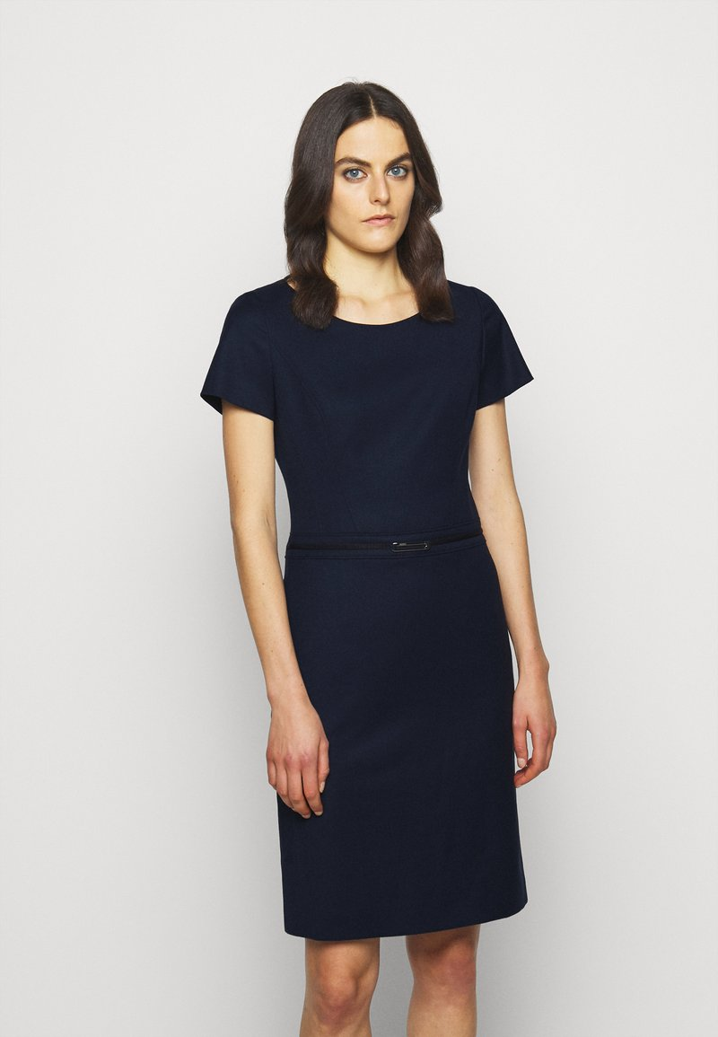 HUGO - KADASI - Shift dress - open blue