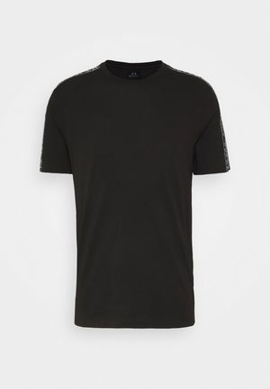 JUMPER - Print T-shirt - black