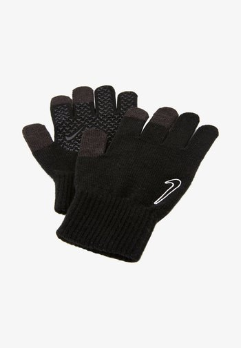 TECH AND GRIP GLOVES  UNISEX - Gloves - black/white