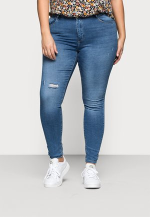 CARLAOLA  - Skinny-Farkut - light blue denim