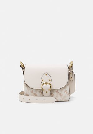 HORSE AND CARRIAGE BEAT SHOULDER BAG - Kabelka - chalk taupe