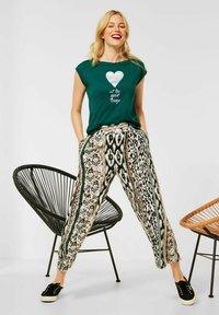 Street One - Print T-shirt - grün - 2