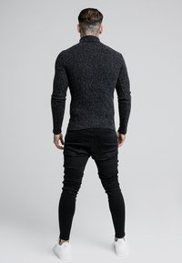 SIKSILK - ROLL NECK JUMPER - Maglione - black - 2