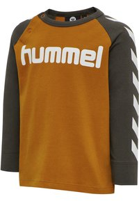 Hummel - Long sleeved top - deep lichen green - 1