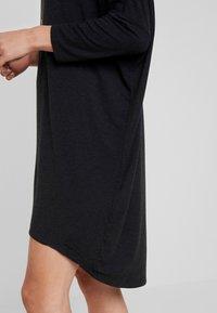 Moss Copenhagen - TILDE DRESS - Jersey dress - mottled dark grey - 6