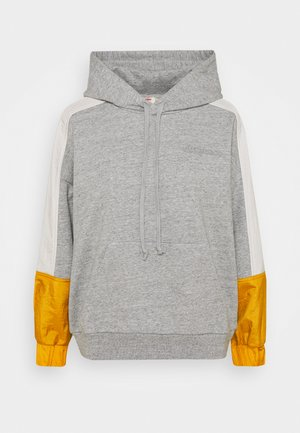 LINEAR LOGO HOODIE - Hættetrøjer - gold coast/tofu/heather grey