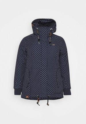 DANKA DOTS - Winter coat - navy