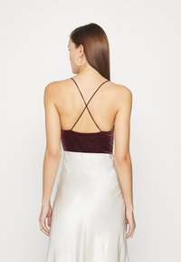 Abercrombie & Fitch - COZY CHASE - Top - burgundy - 2