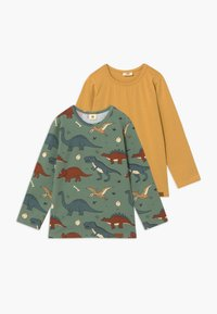 Walkiddy - 2 PACK - Long sleeved top - green - 0