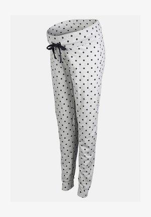 Pyjamasbyxor - light grey melange