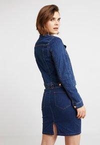 Vila - VISHOW JACKET - Cowboyjakker - medium blue denim - 2
