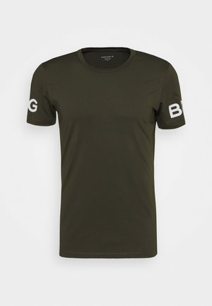 BORG TEE - T-shirt con stampa - rosin