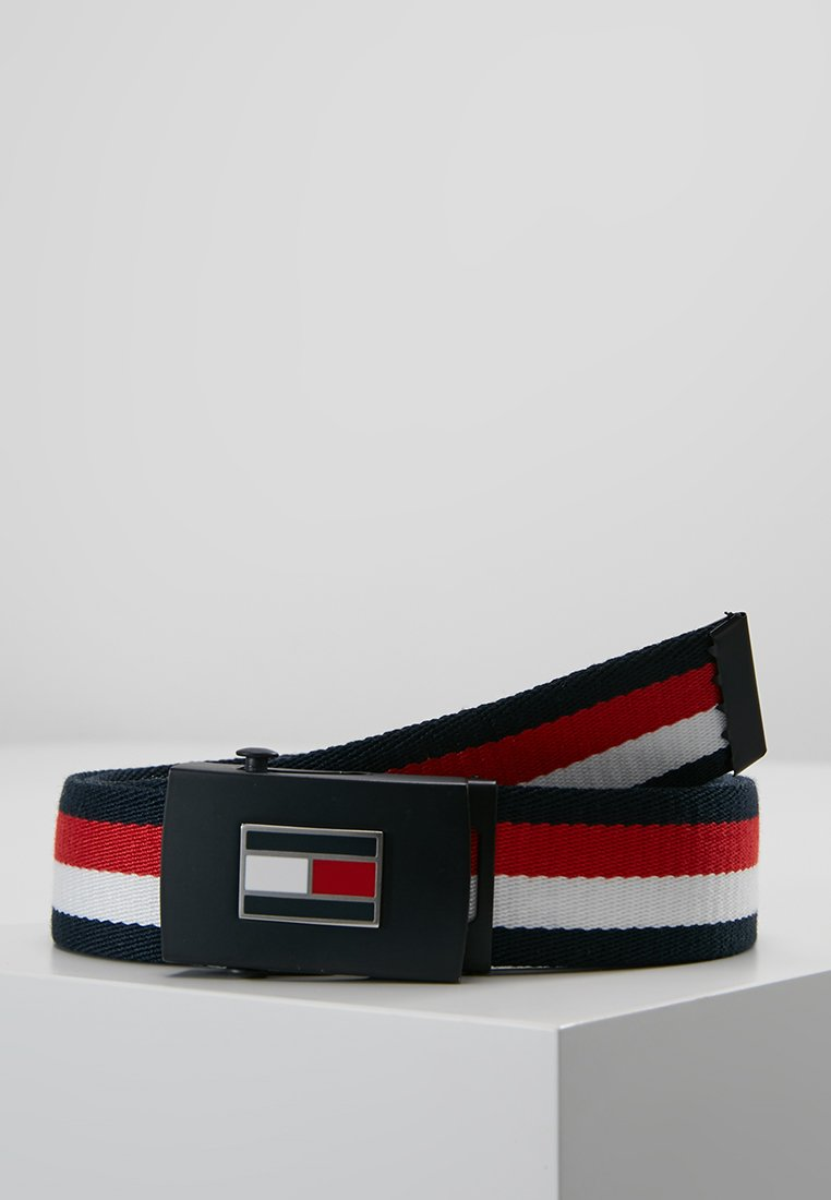 Tommy Hilfiger - CORP REVERSIBLE BELT - Pasek - navy