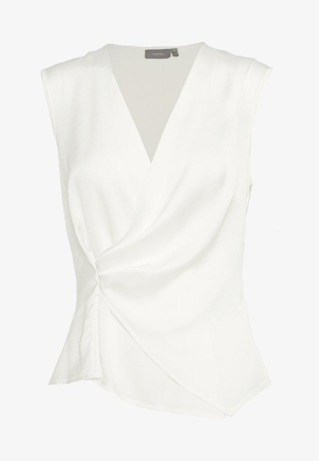 BYRODINA WRAP - Blus - off white