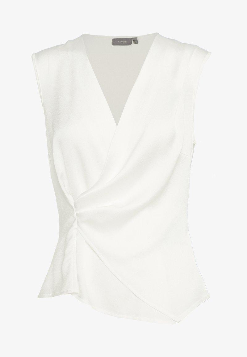 b.young - BYRODINA WRAP - Blouse - off white