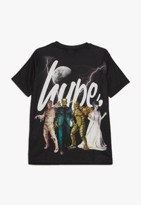 Hype - KIDS MONSTER SQUAD SCRIPT - Print T-shirt - black - 1