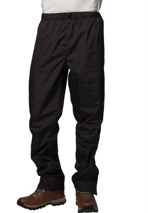 FLUID II - Trousers - black