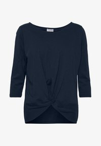WITH KNOT DETAIL - Long sleeved top - summer night