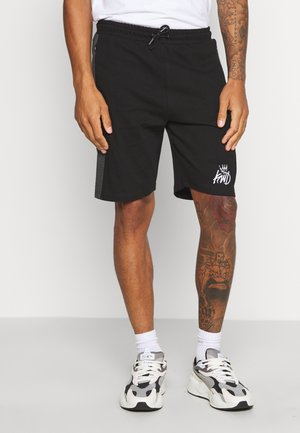 VESY SHORT - Shorts - black/charcoal
