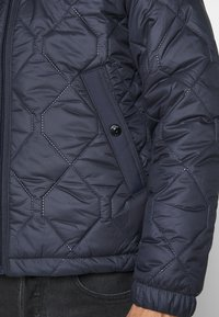 G-Star - ATTACC HEATSEAL QUILTED - Light jacket - namic heatpress padded sartho blue - 6