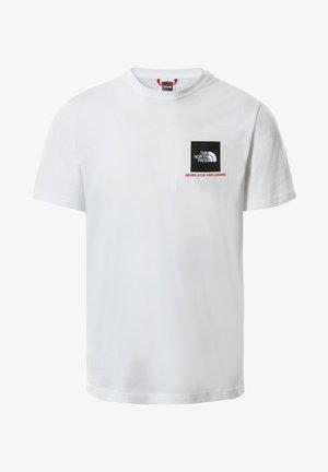 T-shirt print - tnf white