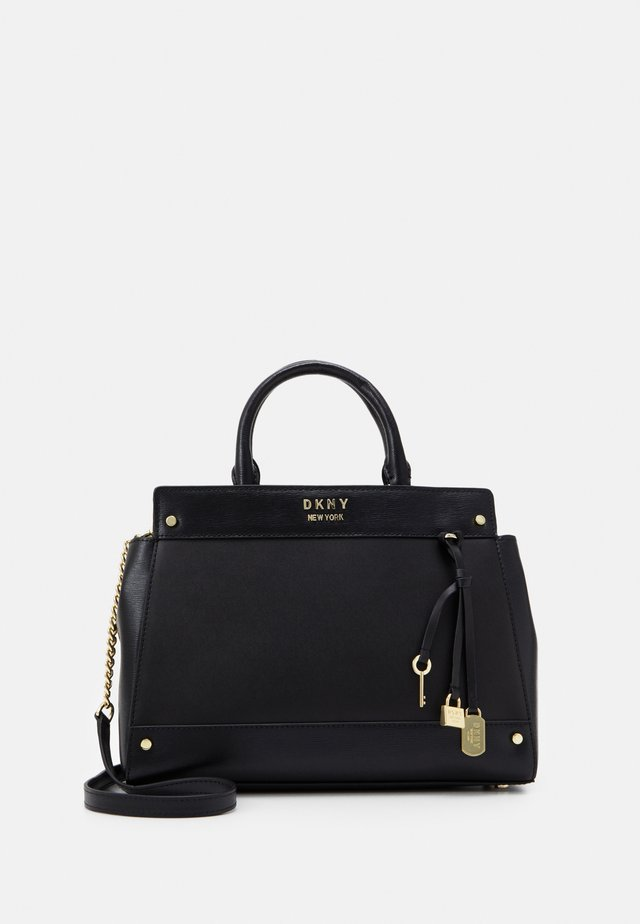 THELMA SATCHEL - Handtas - black/gold