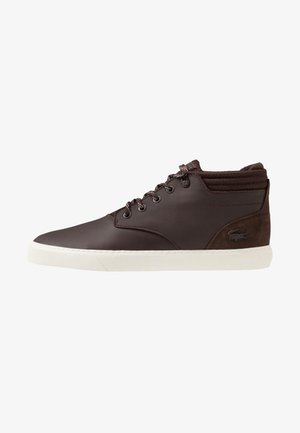 ESPARRE CHUKKA - Sneakersy wysokie - brown/offwhite