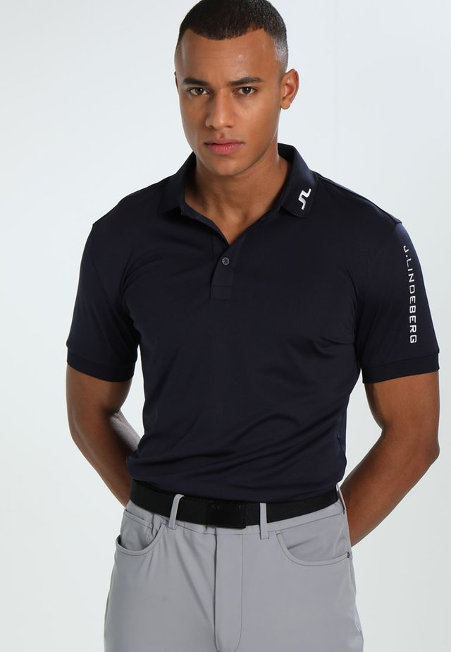 TOUR TECH SLIM - Treningsskjorter - navy