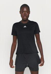 adidas Performance - TEE H.RDY - Camiseta estampada - black - 0
