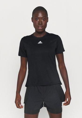 TEE H.RDY - Camiseta estampada - black