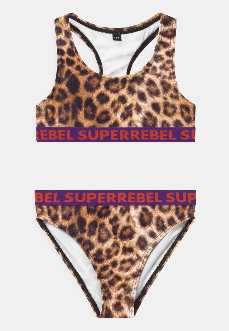 SuperRebel - SET - Bikini - camel
