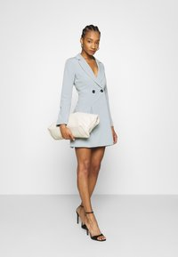 Who What Wear - JACKET DRESS - Vestido de tubo - grey - 1