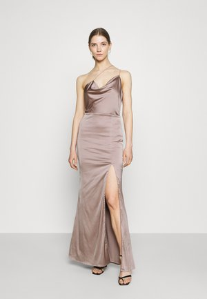 PUT ON A SHOW STRAP GOWN - Galajurk - nougat