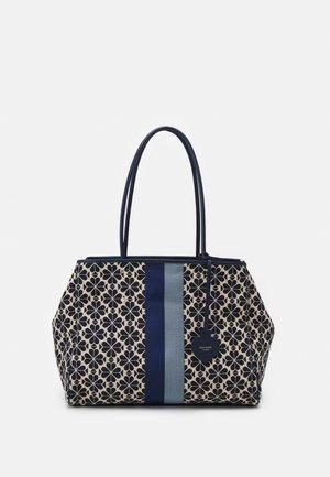 LARGE TOTE SET - Tote bag - blue/multi
