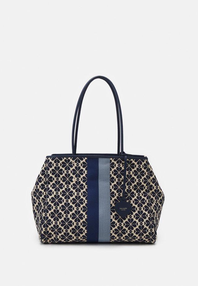 LARGE TOTE SET - Shopping bag - blue/multi