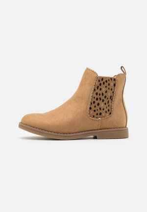 SCALLOP GUSSET BOOT - Classic ankle boots - sandune