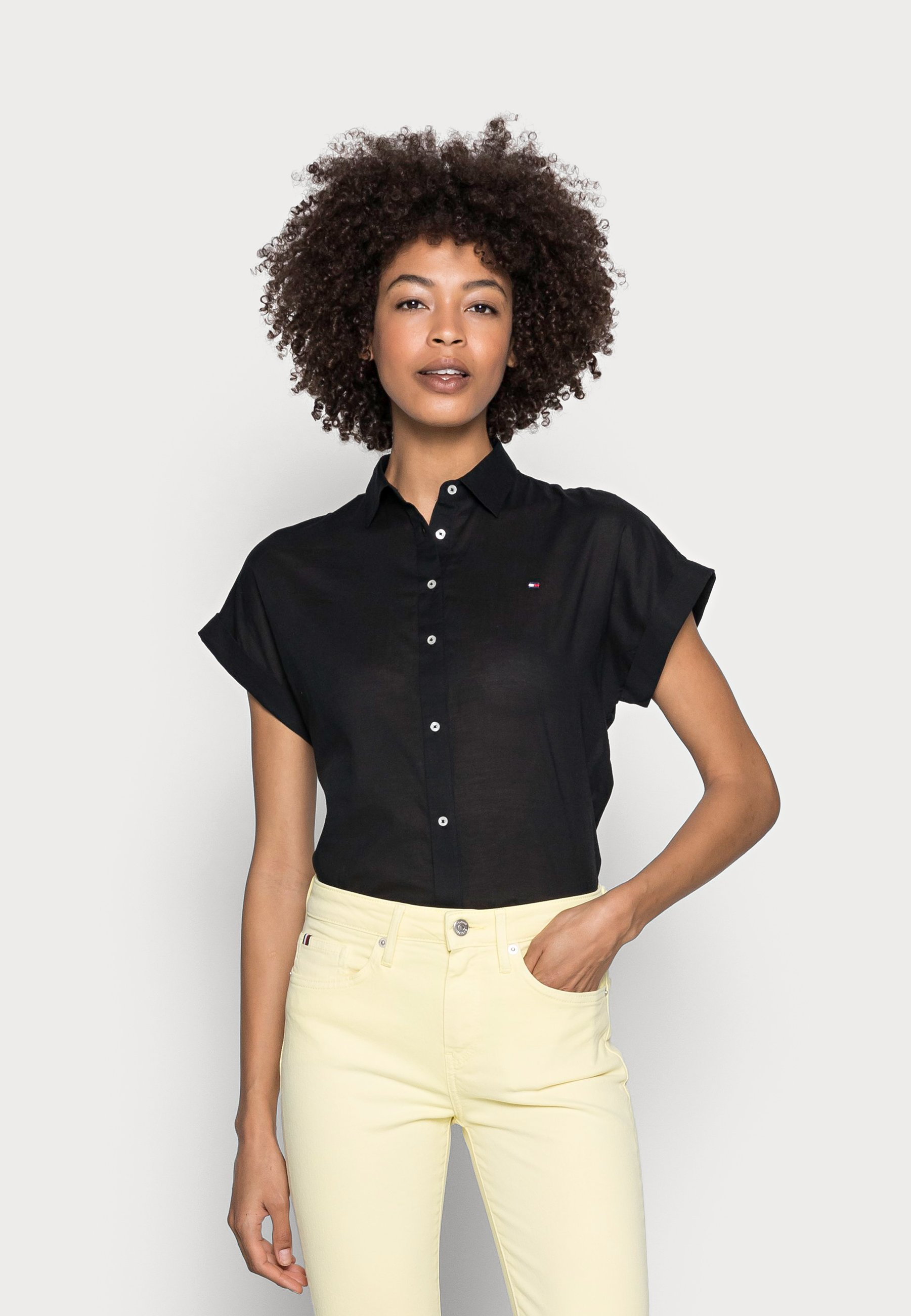 Donna COTTON VOILE RELAXED SHIRT - Camicia