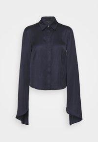 Patrizia Pepe - CAMICIA - Button-down blouse - slate blue - 0