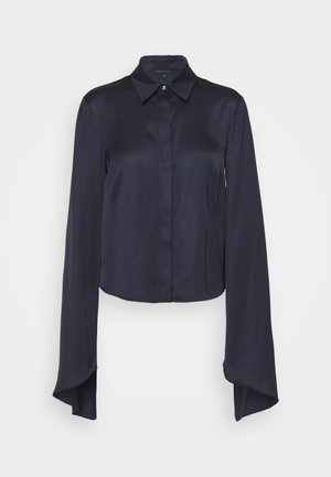 CAMICIA - Button-down blouse - slate blue
