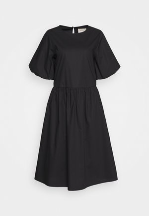 JANA MIDI DRESS - Freizeitkleid - black