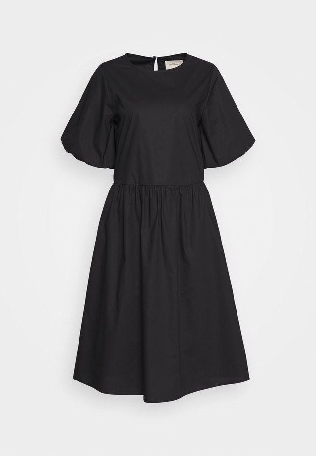 JANA MIDI DRESS - Korte jurk - black