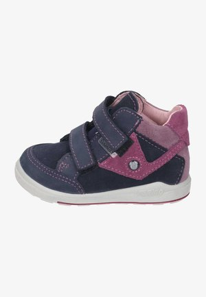 Baby shoes - see/fuchsia